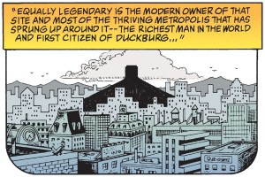 The Richest Duck in the World panel