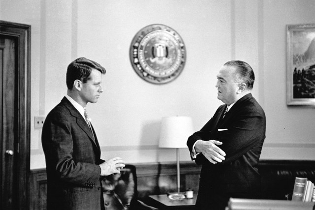 Robert Kennedy Edgar Hoover