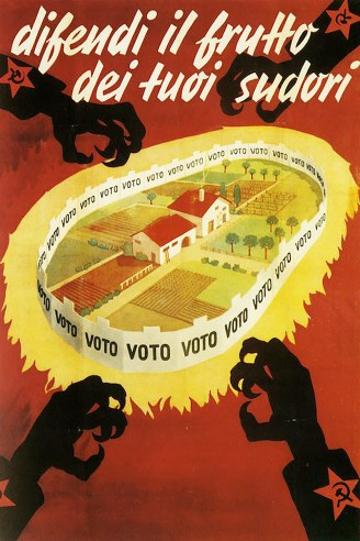 1948 Italian election poster