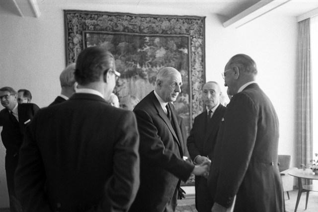 Charles de Gaulle Lyndon Johnson