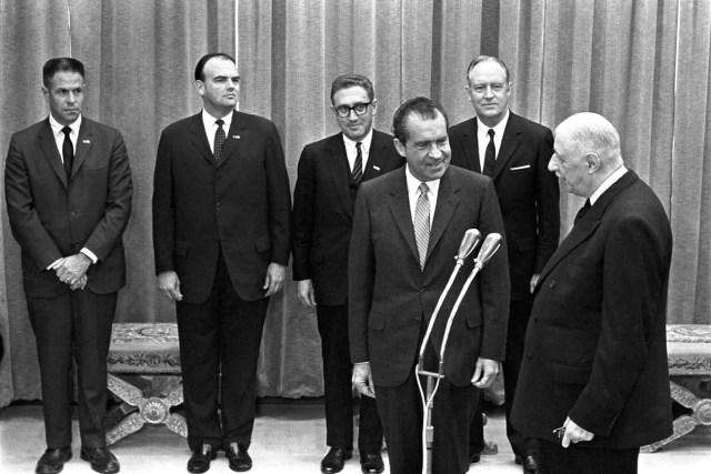 Richard Nixon Charles de Gaulle