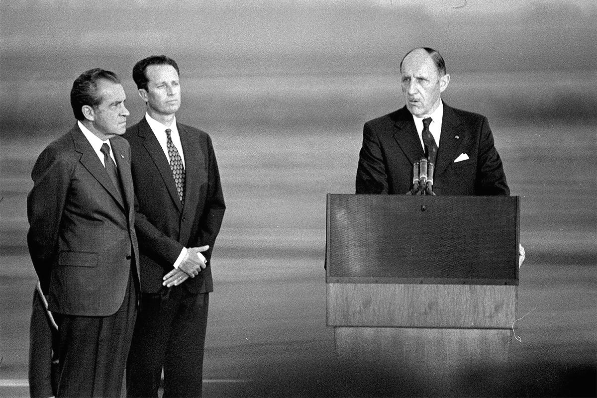 Richard Nixon Joseph Luns