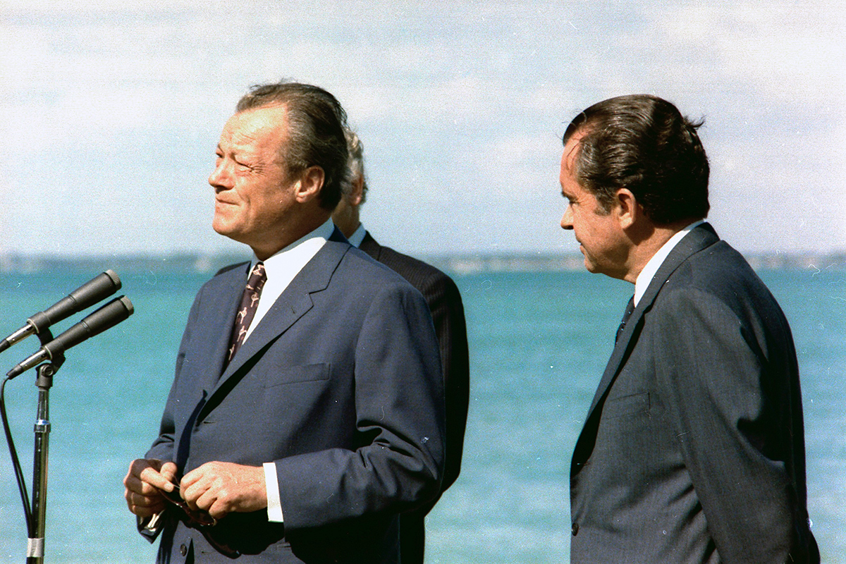 Willy Brandt Richard Nixon