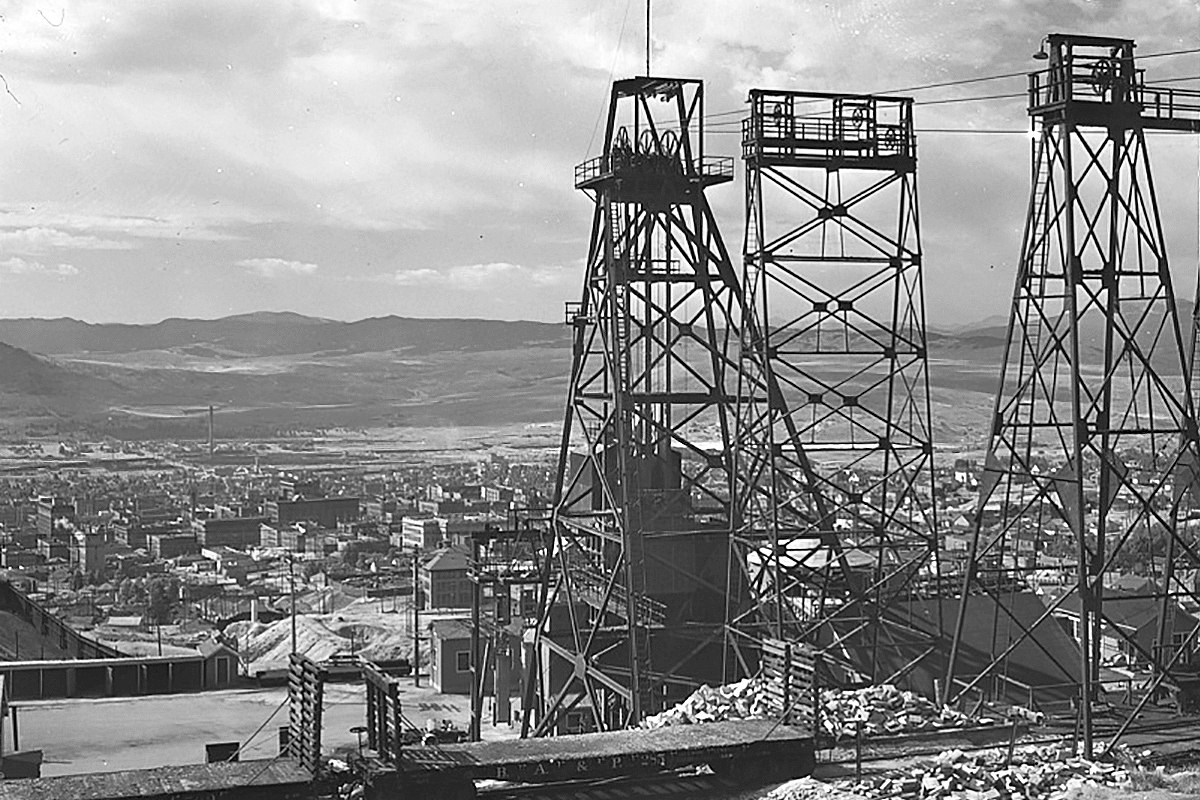 Anaconda Copper Mine Montana