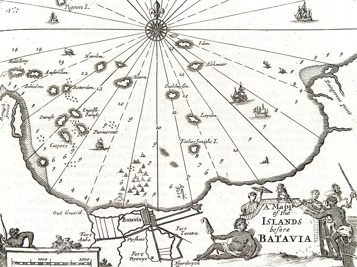 Batavia Java map