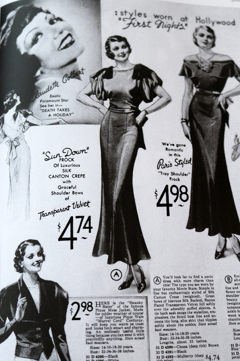 Everyday Fashions of the Thirties page