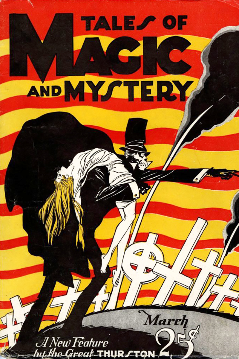 Tales of Magic and Mystery March 1928 cover