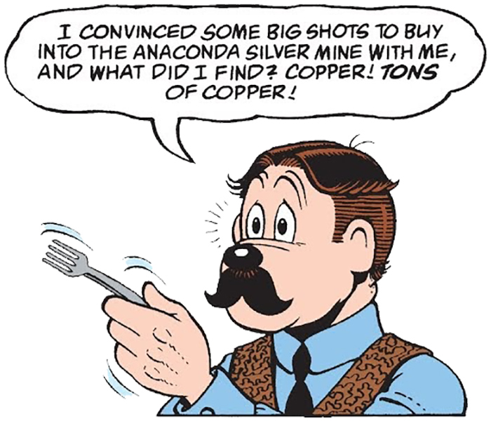 The Raider of the Copper Hill panel