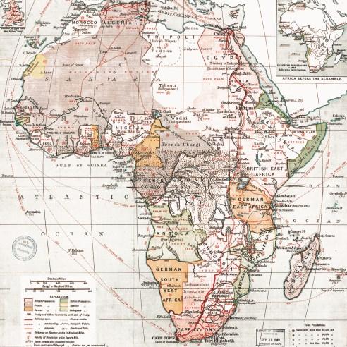 1898 Africa map