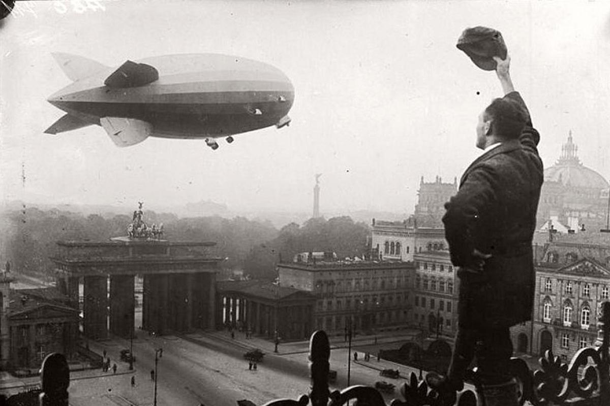 Berlin Germany zeppelin