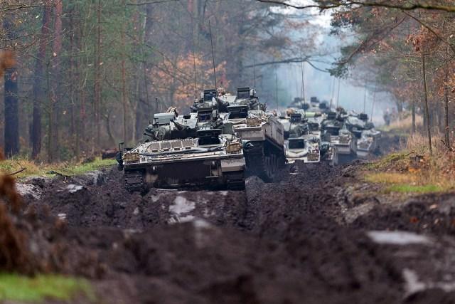 British tanks in Poland