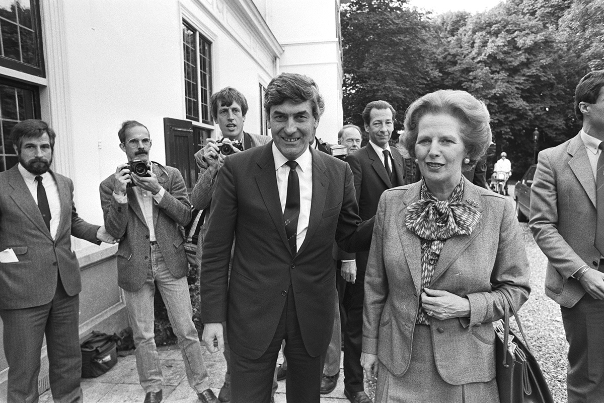 Ruud Lubbers Margaret Thatcher