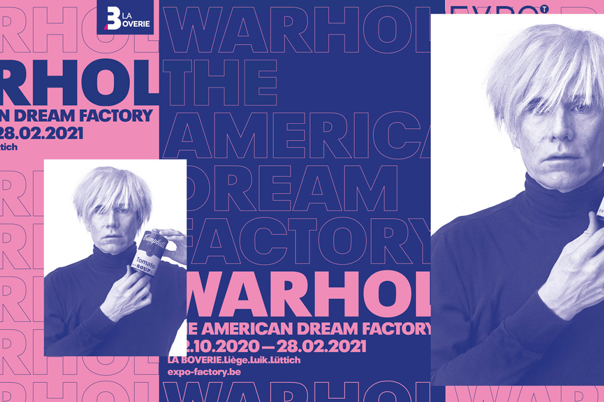Warhol: The American Dream Factory poster