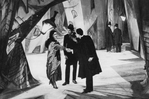 The Cabinet of Dr Caligari scene