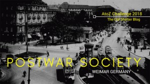 The Old Shelter Weimar Germany Postwar Society