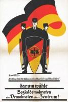 1924 German Social Democratic Party election poster
