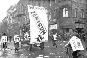 German Center Party campaigning