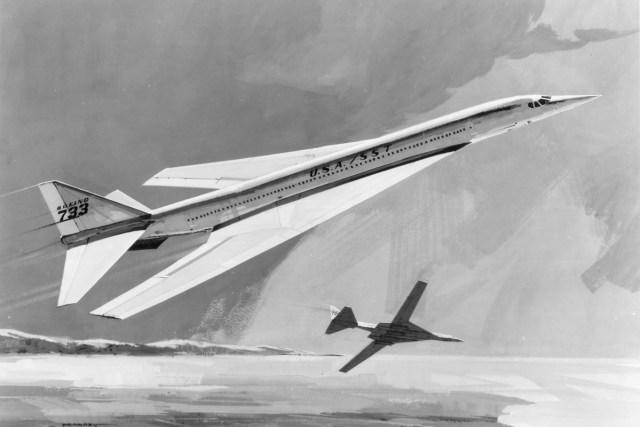 Boeing 733 artwork