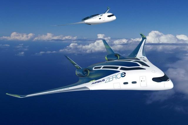 Airbus ZEROe concept art