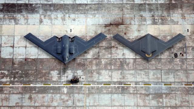 B-2 B-21 stealth combers