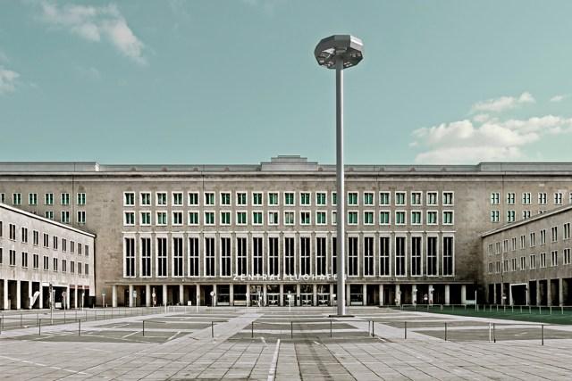 Berlin Tempelhof Airport terminal building
