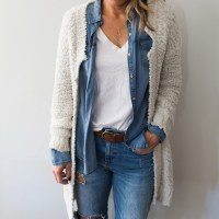 Series: Outfit of the Day - How to Style Denim on Denim