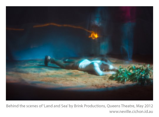 Brink Productions Land and Sea behind the scenes