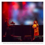 Neneh Cherry with RocketNumberNine at Womadelaide by Neville Cichon