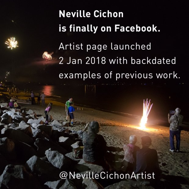 Neville Cichon is finally on Facebook and Instagram