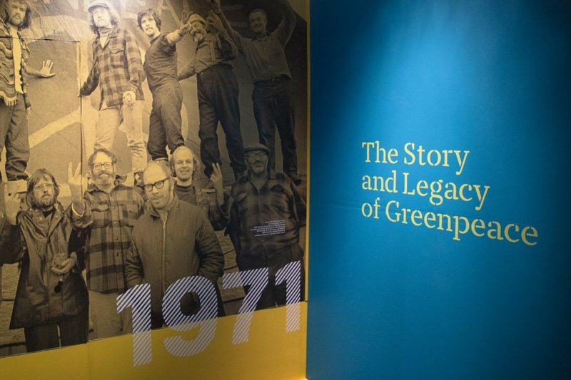 The Story and Legacy of Greenpeace exhibit