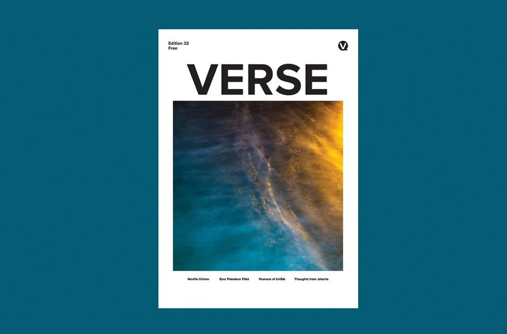 Verse Magazine cover edition 32