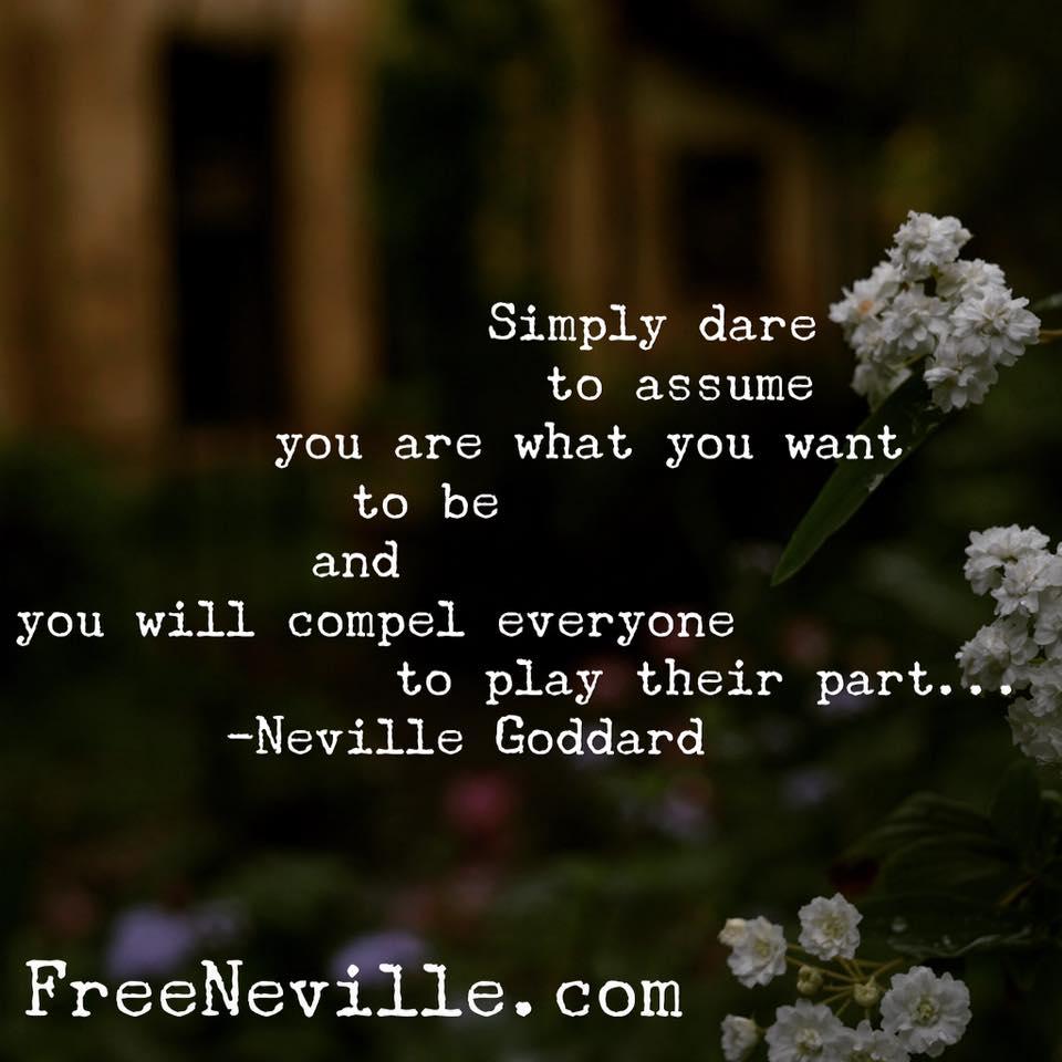 simply dare to assume