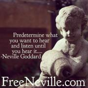 Neville Goddard's Secret Listening Method