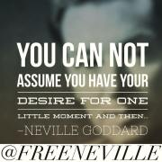 How To Remain Faithful - Neville Goddard Quote