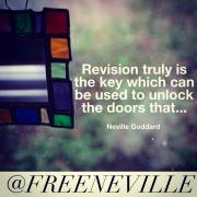 Revision - Neville Goddard Quotes