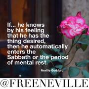 Feel It Real Secret of The Sabbath