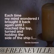 I Allowed it To Become A Little Boat - How Neville Goddard Actually Used Feel It Real