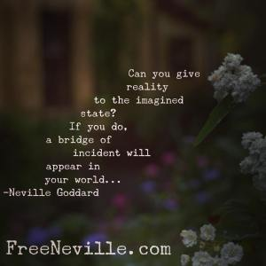 live in the end by neville goddard