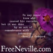 I Remember When by Neville Goddard