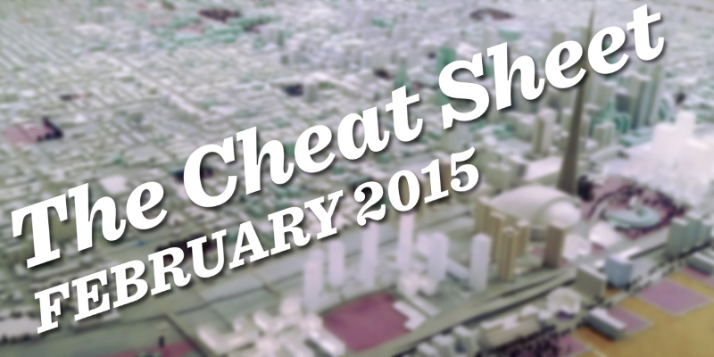 The Cheat Sheet: February 10 City Council