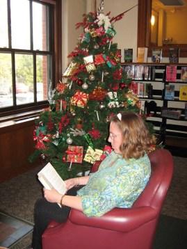 Tracy and Christmas Tree