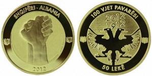 100 лет независимости Албании (50 леков)