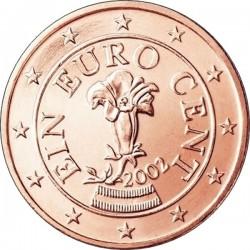 """Монета """"Австрия - 1 евроцент"""""""
