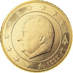 """Монета """"Бельгия - 50 евроцентов (1999-2007)"""""""