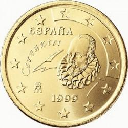 """Монета """"Испания - 10 евроцентов (1999-2009)"""""""
