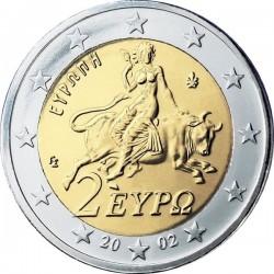 """Монета """"Греция - 2 евро"""""""