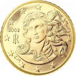 "Монета ""Италия - 10 евроцентов"""