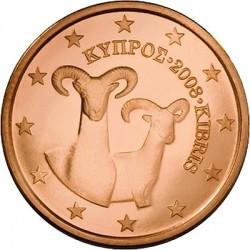 """Описание монеты """"Кипр - 1 евроцент"""""""