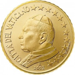 "Монета ""Ватикан - 50 евроцентов (2002-2005)"""