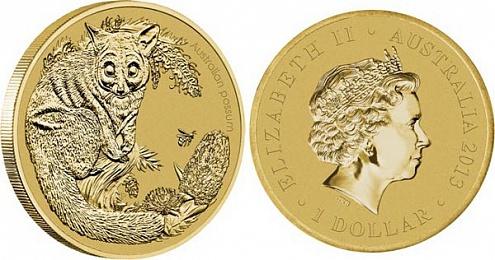 Монета «Австралийский поссум»